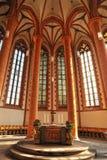 Church of the Holy Spirit architecture. Heidelberg royalty free stock photo