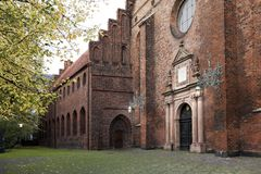 The Church of the Holy Spirit Danish: Helligåndskirken in Copenhagen Stock Photography
