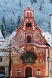 Church of the Holy Spirit/Füssen in Wint Stock Photos