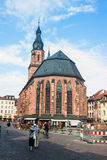 Church of the Holy Spirit in Heidelberg Royalty Free Stock Photography