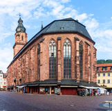 Church of the Holy Spirit in Heidelberg Stock Photography