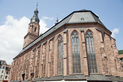 Church of holy spirit in Heidelberg, Germany Stock Image