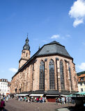 Church of the Holy Spirit in Heidelberg Royalty Free Stock Image