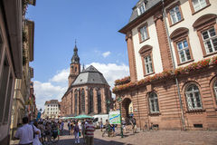 Church of the Holy Spirit in Heidelberg Royalty Free Stock Photo