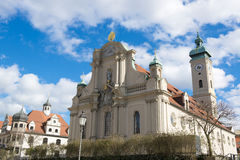 Church of Holy Spirit in Munich Royalty Free Stock Images
