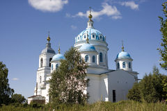 The Church of Holy spirit, the New Yaroslavl region Stock Image
