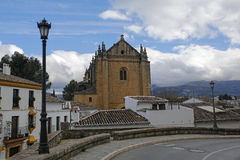 Church of the Holy Spirit in Ronda, Andalusia, Spain Stock Photo