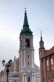 Church of Holy Spirit. Torun, Poland Stock Image