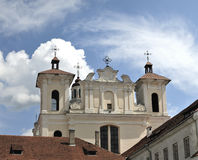 The Church of the Holy Spirit in Vilnius Stock Photos