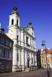 Church of the Holy Spirit in Warsaw Stock Photography