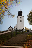 The Church of the Holy Spirit in Zehra, Slovakia Stock Photos