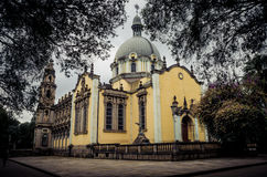 The church of the Holy Trinity, Addis Ababa Stock Image