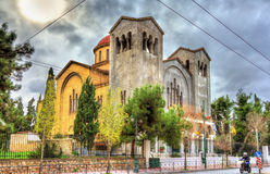 Church of Holy Trinity in Athens Royalty Free Stock Image