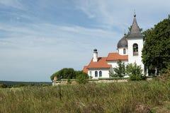 Church of the Holy Trinity. In Behovo village, Polenovo, Tula Region , Russia Royalty Free Stock Photography