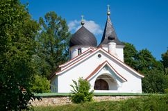 The Church of the Holy Trinity in Bekhovo. Royalty Free Stock Photos