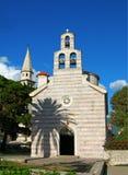 Church of Holy Trinity, Budva, Montenegro Stock Photo
