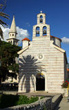 Church of Holy Trinity in Budva, Montenegro Royalty Free Stock Images