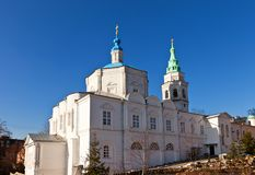 Church of Holy Trinity convent in Kursk, Russia Stock Image