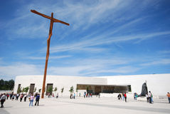 The Church of Holy Trinity,Fatima, Portugal Royalty Free Stock Photo