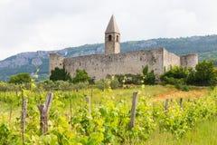 Church of the Holy Trinity, Hrastovlje, Slovenia. Royalty Free Stock Images