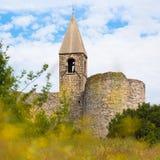 Church of the Holy Trinity, Hrastovlje, Slovenia. Stock Images