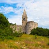 Church of the Holy Trinity, Hrastovlje, Slovenia. Royalty Free Stock Photography