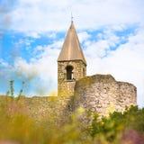 Church of the Holy Trinity, Hrastovlje, Slovenia. Stock Image