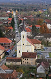 Church of Holy Trinity in Hrvatska Dubica, Croatia. Parish Church of Holy Trinity in Hrvatska Dubica, Croatia Stock Photo