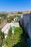 Church of Holy Trinity. Inkerman Cave Monastery Royalty Free Stock Image
