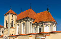 Church of Holy Trinity in Kaunas. Lithuania stock photography