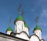 Church of the Holy Trinity in Listy, Moscow, Russia Stock Images