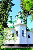 Church of Holy Trinity Monastery Kitaevo in Kiev Royalty Free Stock Photography