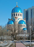Church of the Holy Trinity in Moscow, Russia Stock Photos