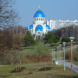 Church of the Holy Trinity in Moscow, Russia Royalty Free Stock Photography