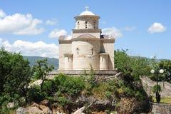 The church of the Holy Trinity near Ostrof monastery Stock Photography