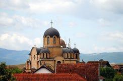 Church. Of the Holy Trinity in Parteš, Kosovo Stock Photos