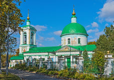 Church of Holy Trinity on Sparrow Hills in Moscow Royalty Free Stock Photography