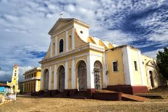 Church of the Holy Trinity in Trinidad Royalty Free Stock Image