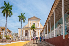 Church of Holy Trinity in Trinidad, Cuba Royalty Free Stock Photo