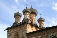 Church of the Holy Trinity, Veliky Novgorod Royalty Free Stock Photos