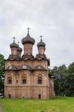 Church of the Holy Trinity, Veliky Novgorod Royalty Free Stock Photo