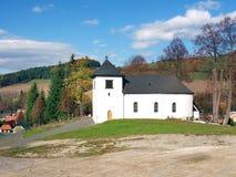 Church of The Holy Trinity, Vysny Kubin royalty free stock photo