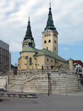 Church of the Holy Trinity, Zilina Royalty Free Stock Photos
