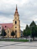 Church of The Holy Trinity in Zvolen, Slovakia Stock Photo
