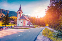 Church of the Holy Virgin Mary in Ribchev Laz village Stock Image