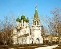 Church in honor Assumption of the Mother God Niznhy Novgorod Royalty Free Stock Photography