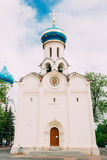 Church in honor of the Descent of the Holy Spirit , Dukhovskaya Church. Church in honor of the Descent of the Holy Spirit . Dukhovskaya Church - the second stone Royalty Free Stock Image