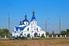 Church in honor of the Tikhvin Icon of the Mother of God Royalty Free Stock Images