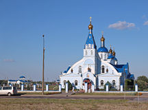 Church in honor of the Tikhvin Icon of the Mother of God Royalty Free Stock Photography
