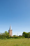 Church in Hoorn at Terschelling Royalty Free Stock Photography